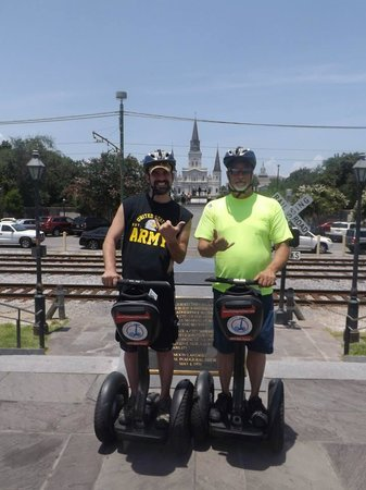 City Segway Tours New Orleans: on our tour :)