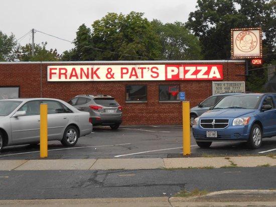 Cranky Pat's Pizza: Sign still says Frank & Pat's