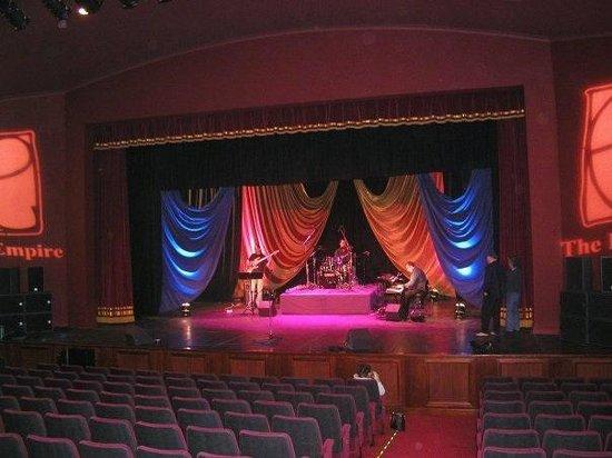 Empire Theatre & Cinema: Stage empire consett