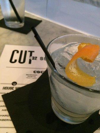 Cut 432 : Delicious blood orange margarita