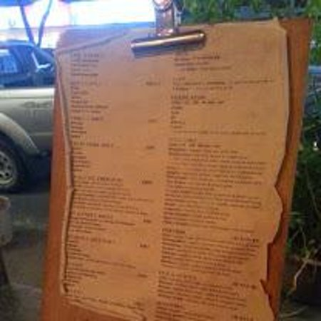 El Centro: The tattered menu makes it feel more authentic