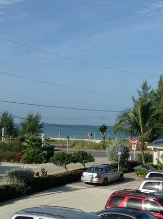 Beach Club at Anna Maria: view from balcony in Unit 14