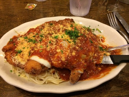 Mandina's : Chicken Parm. Absolutely amazing.