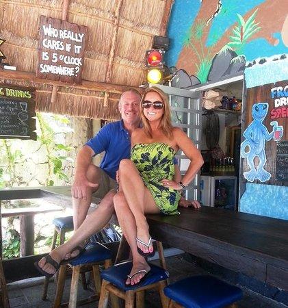 Blue Gecko Cantina: Fun People!!!!!!
