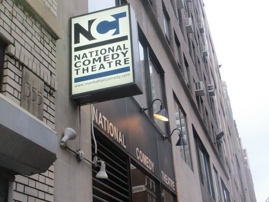 National Comedy Theatre New York: Theater entrance