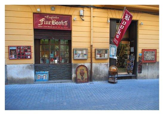 English Book shop