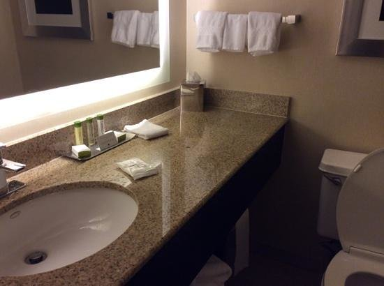 DoubleTree by Hilton San Francisco Airport : salle de bain
