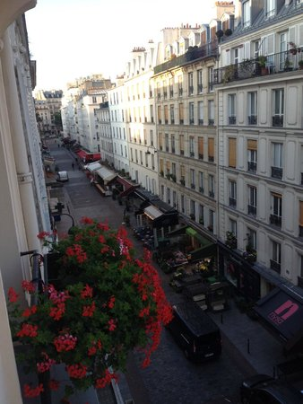 Grand Hotel Leveque : View from our room - gorgeous!