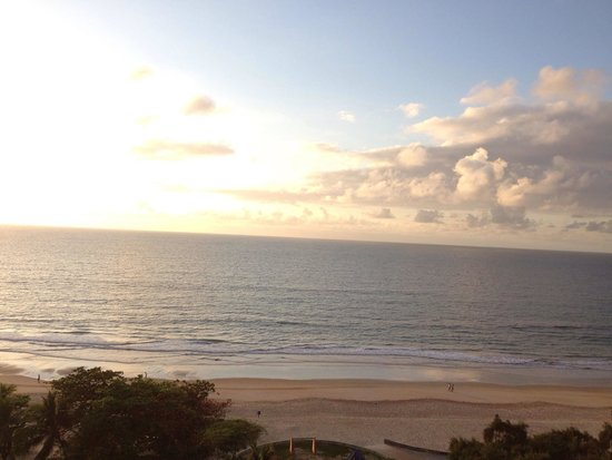 Radisson Recife: The View in the morning!