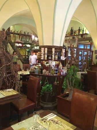 Oliva Verde Ristorante : From inside