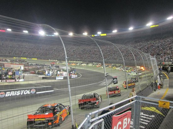 From First Row Of Wallace Tower For Irwin Tools Night Race