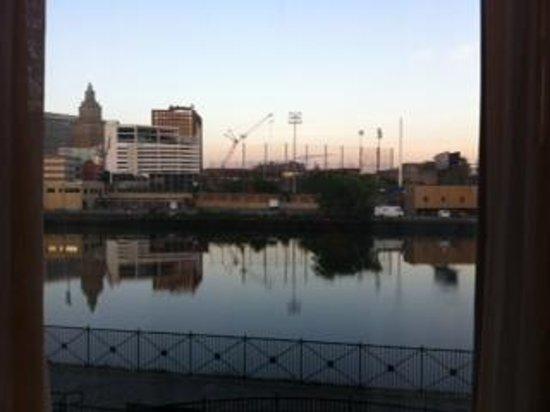 Hampton Inn & Suites Newark-Harrison-Riverwalk: View from our room!