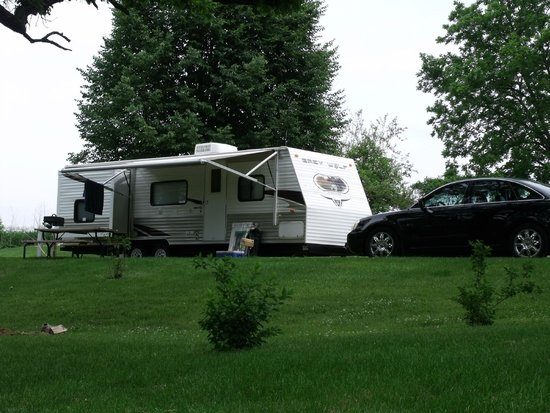 Vel Terra Ranch and Campground: RV Site - open spacious