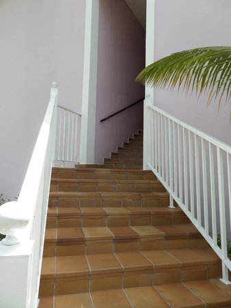 ClubHotel Riu Bambu : Escadas que levam ao 1ºandar