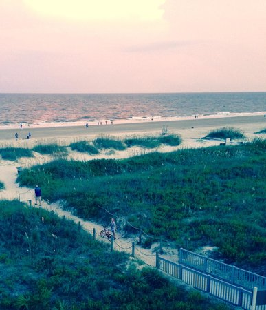 Hilton Head Island Beach & Tennis Resort: View from Admirals Row