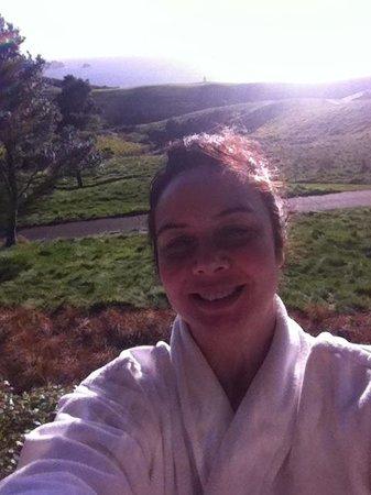 The Lodge at Kauri Cliffs: Good day, Sunshine!