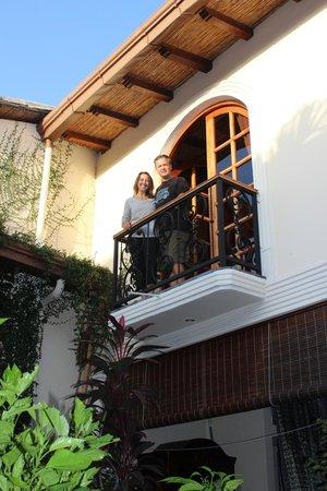 Casa Cubana : Balcony off Colibri room