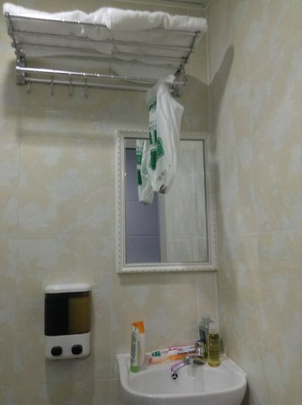 Merryland Guest House: The private bathroom