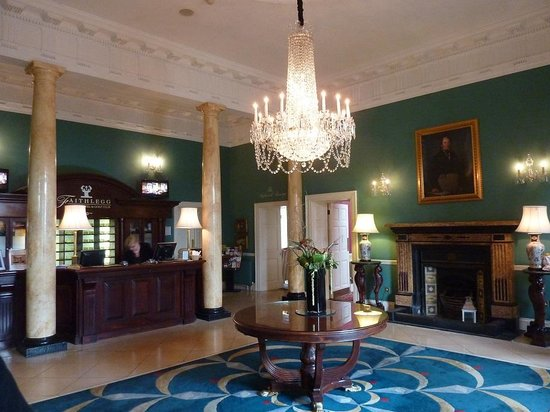 Faithlegg House Hotel & Golf Resort: Reception area