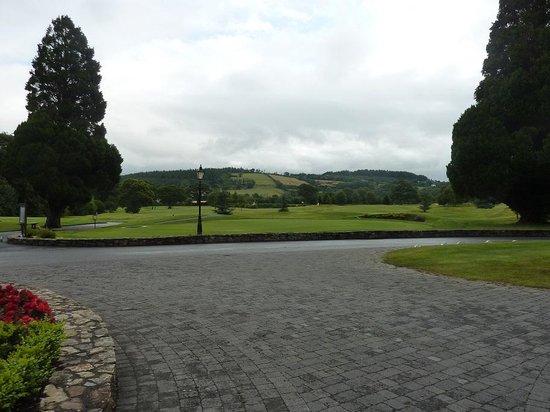Faithlegg House Hotel & Golf Resort: View from the front