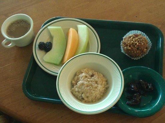 The Oaks at Ojai: my choice for breakfast