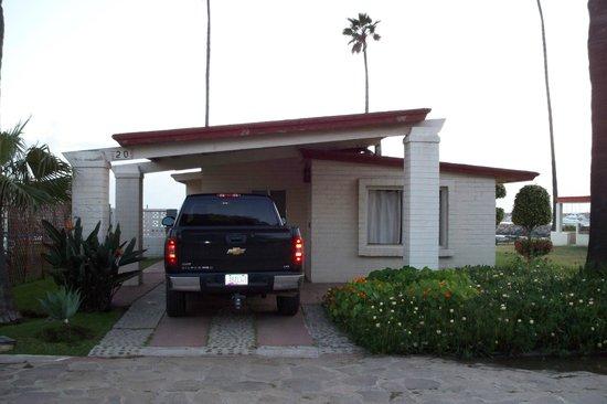 Quintas Papagayo: ocean front unit