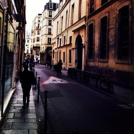 Le Marais: Side street in The Marais