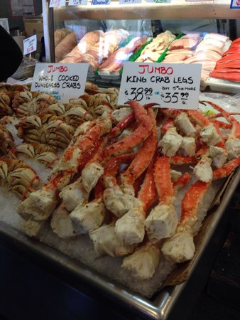 Pike Place Market : Sad that these are so expensive.  My friend who lives in Seattle goes to a fish market he said $