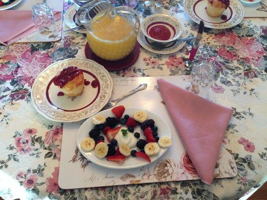Cindy's Bed & Breakfast: Yummy breakfast