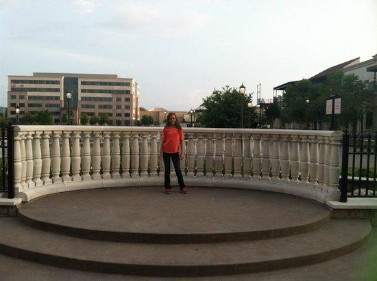 The Westin Huntsville: hotel garden area
