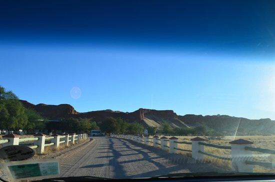 Namib Desert Lodge : Entrance to Lodge