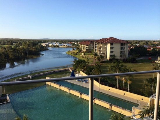 The Sebel Pelican Waters Golf Resort & Spa: View from spa suite (level 3)