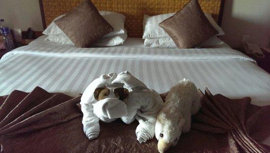 Kuta Seaview Boutique Resort & Spa : Sehr einfallsreich und lustig!
