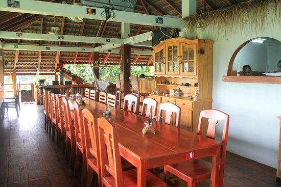 blue kep bungalow : restaurant