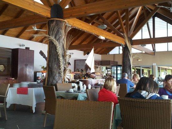 Hotel Kou-Bugny : salle du restaurant