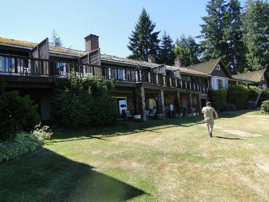 Deer Lodge Motel: Main Building