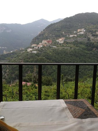 Villa Maria Restaurant : view from the terrace