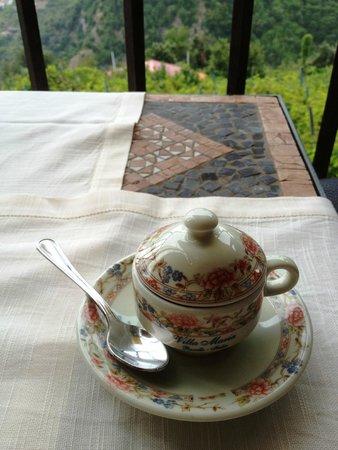 Villa Maria Restaurant : espresso