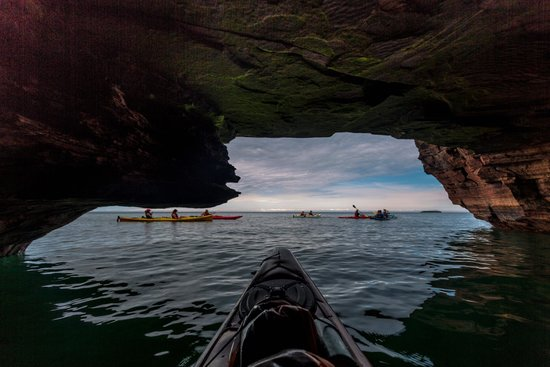 Living Adventure, Inc : Inside the sea caves