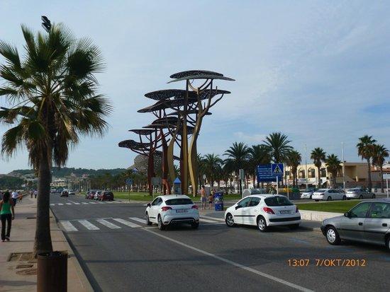 Aquopolis Costa Dorada : Улицы