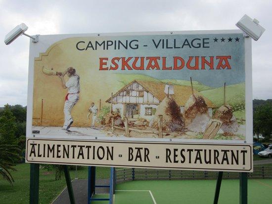 Camping Eskualduna : ESKUALDUNA