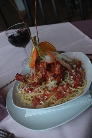 Bellavista Cafe & Restaurant : Lobster Bolognese