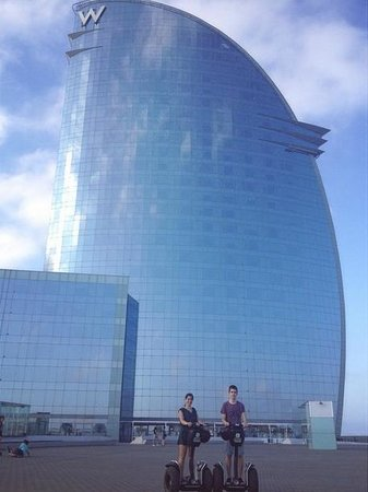 Tour Segway Barcelona: Hotel Vela