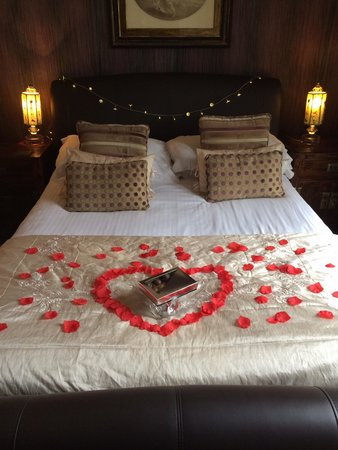 The Howbeck: Romantic package at howbeck