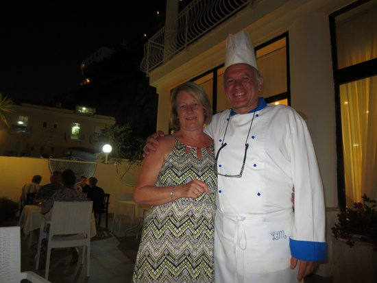 Hotel Admiral Sorrento: Another lovely Gala evening