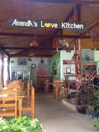 Ananda Yoga & Detox Center: Deliciosa comida