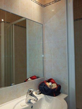 Hotel de la Darse: Angolo doccia
