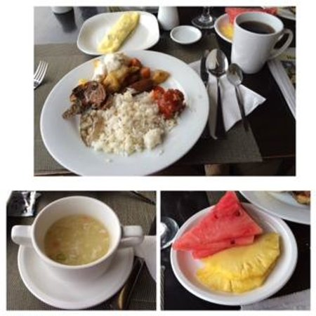Summit Circle Cebu: Buffet breakfast