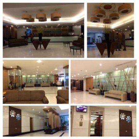 Summit Circle Cebu: The hotel lobby