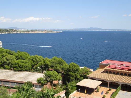 Hotel Riu Bonanza Park : side sea view